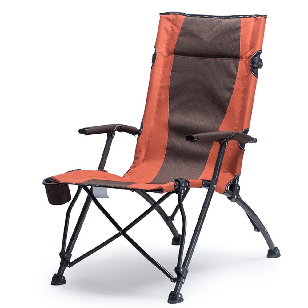 アウトドア折りたたみ椅子デュアル使用ラウンジチェアポータブル背もたれLunch Breakビーチキャンプ釣り椅子ハイバック高ロードベアリング   B07FKKKL1J