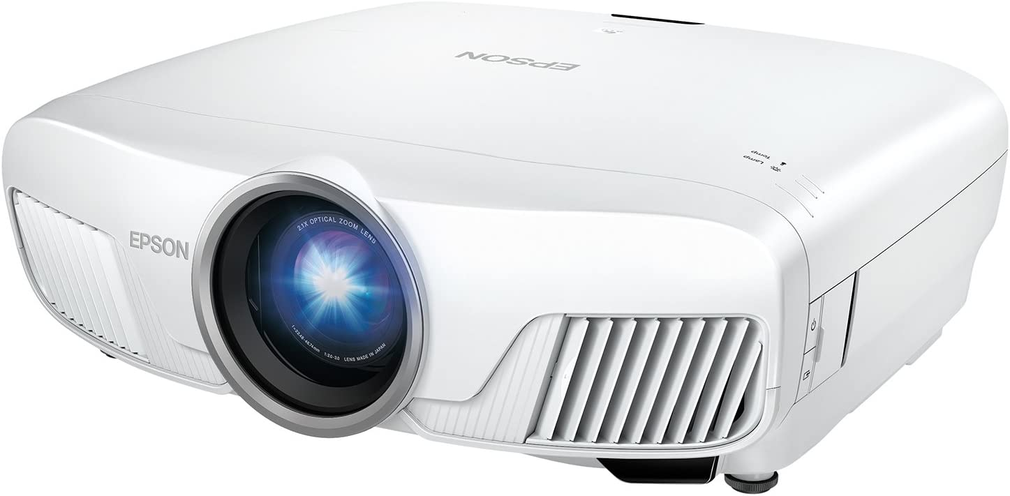 Epson Home Cinema 5040UBe WirelessHD 3LCD Home Theater Projector with 4K Enhancement, HDR10, 100% Balanced Color and White Brightness, Ultra Wide DCI-P3 Color Gamut and UltraBlack Contrast (Renewed)