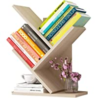U-HOOME Bookshelf Office Simple Storage Rack Desktop, Branch Design Desktop Book shelf Tree Shaped Book Storage…