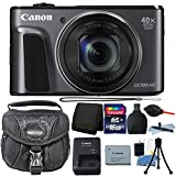 Canon PowerShot SX720 HS 20.3MP 40X Optical Zoom Wifi / NFC Enabled Digic 6 Processor Digital Camera Black with 16GB Top Bundle Review