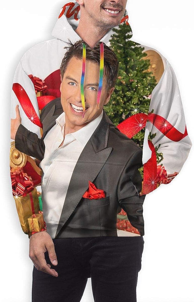 CHASIHAO John Barrowman A Fabulous Christmas Mens Hoodie