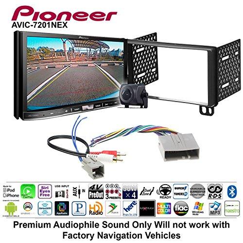 Volunteer Audio Pioneer AVIC-7201NEX Double Din Radio Install Kit w/GPS Navigation Apple CarPlay Android Auto Fits 2003-2006 Expedition, 2004-2006 Navigator ()