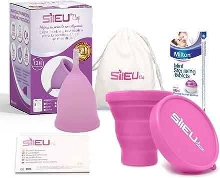 Copa Menstrual Sileu Cup Tulip - Alternativa ecológica y natural a ...