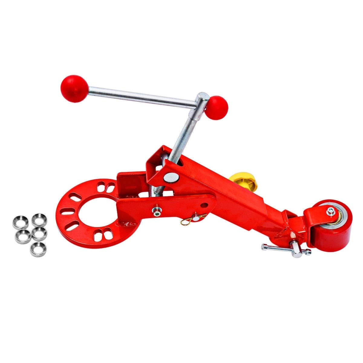 Toolsempire Heavy Duty Fender Rolling Reforming Extending Tool Wheel Arch Roller Flaring Former Red by Toolsempire