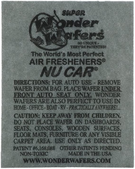 Wonder Wafers Air Fresheners 100ct. Individually Wrapped