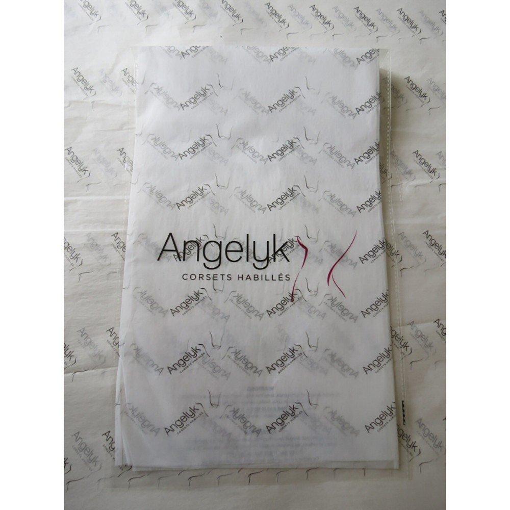IT 38//40 ANGELYK corsets habill/és Corsetto Vestito VOGUE Nero e acciaio a spirale ondulato senza rivetti Bustier S