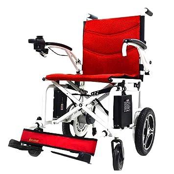 Sillas de ruedas eléctrica de aleación de Aluminio automática Inteligente Pacientes con discapacidad: Amazon.es: Hogar
