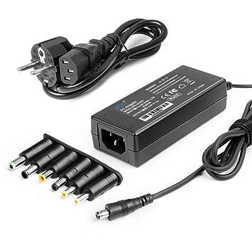 KFD Cargador Universal 60W 12V 5A 4A 3A Adaptador Transformador para Synology DiskStation DS218+ DS218J DS216J, 5050 3528 Tira de luz LED, AOC Benq ...
