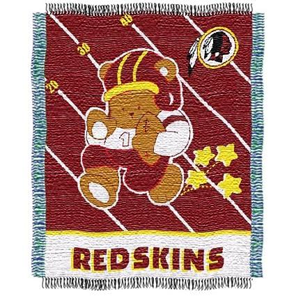 Amazon NFL Washington Redskins Woven Jacquard Baby Throw Enchanting Redskins Throw Blanket