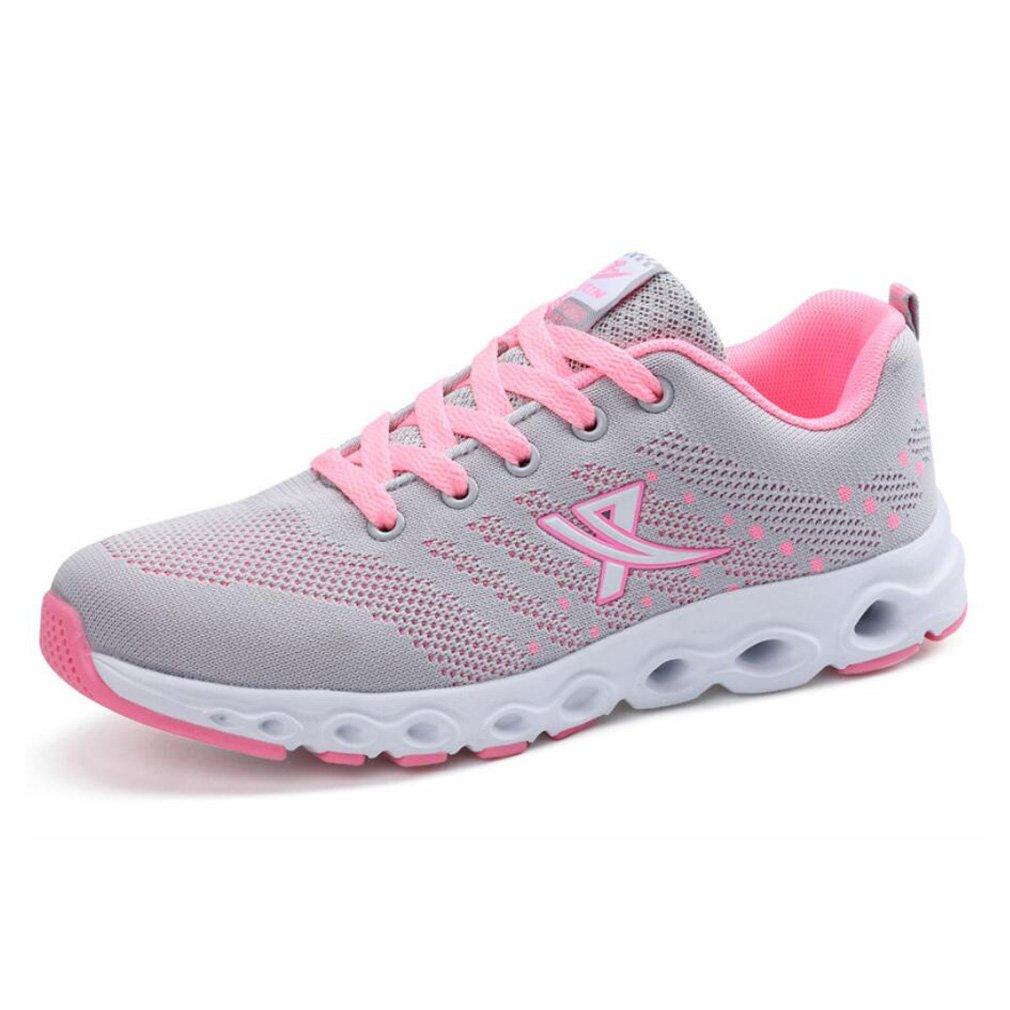 YaXuan Frauen-Laufende Schuhe, Sport-gehende Eignung-Turnhallen-Turnschuhe, Sommer-Neue Kokosnuss-Schuhe, Breathable Abnutzung erhöhte Rutschfeste zufällige Flut-Schuhe Sport-Schuhe