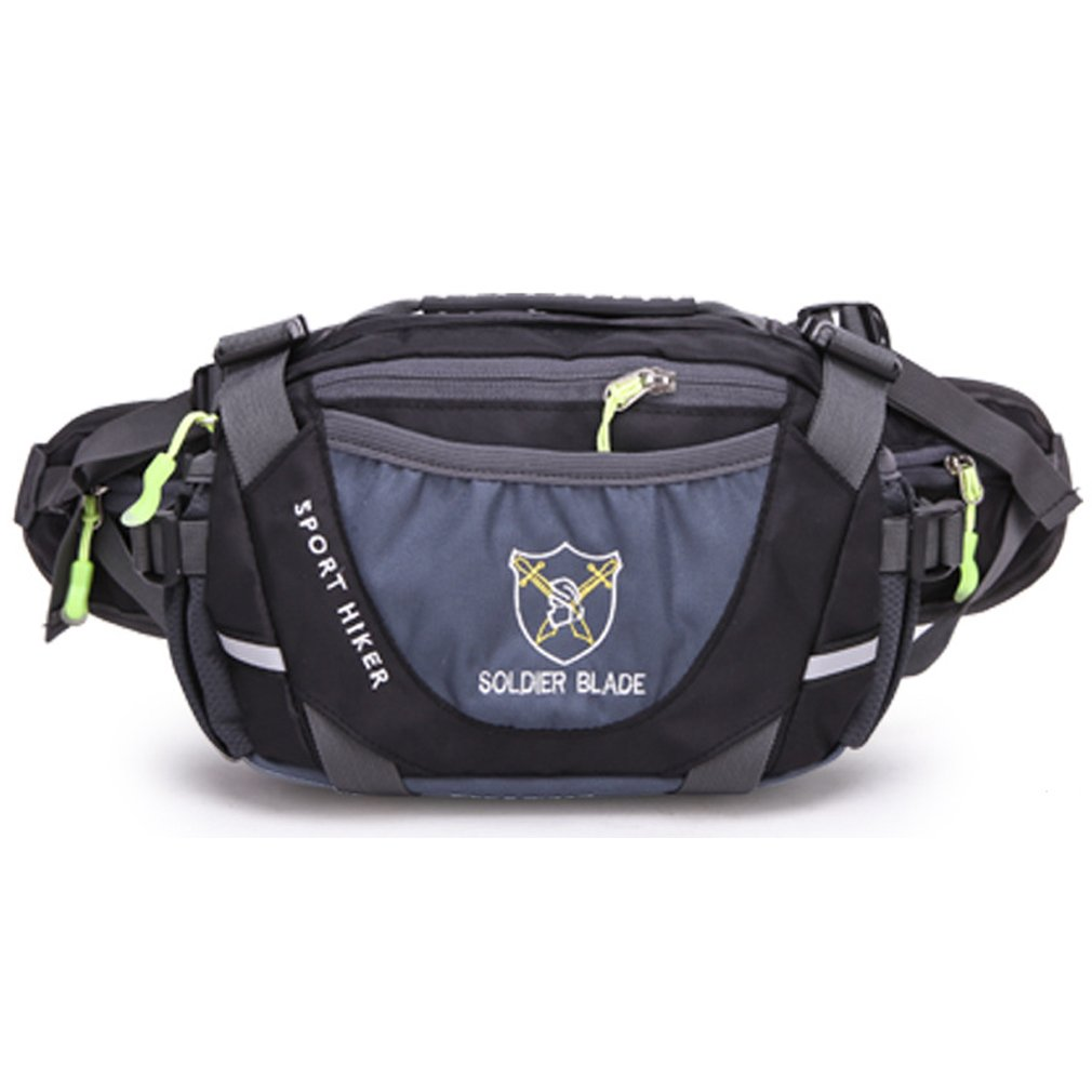 Amazon.com : Outdoor Sport Large Capacity Waist Bag Fanny Pack For Men Women Travelling, Cycling, Hiking, Camping (Black) : Sports & Outdoors