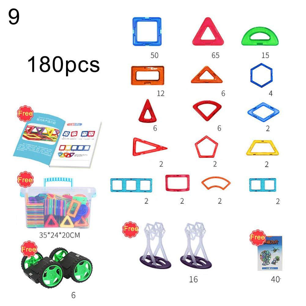 Quietcloud Toy Gift Building Blocks 33/55/60/95/105/110/180/235/275Pcs Educational Magnetic Building Blocks Toys Toys for All Ages by Quietcloud (Image #1)