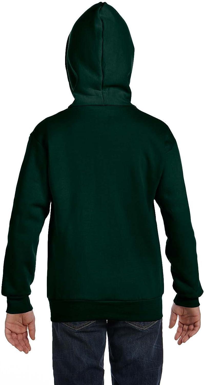 Hanes Big Boys Eco Smart Fleece Zip Hood