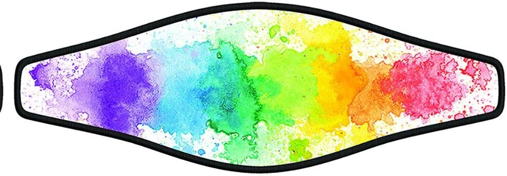Innovative Scuba Concepts Scuba Diving Mask Strap Wrapper Water Colors