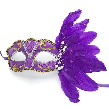 Máscara de Halloween Disfraces Máscara Bola de maquillaje Máscara ...