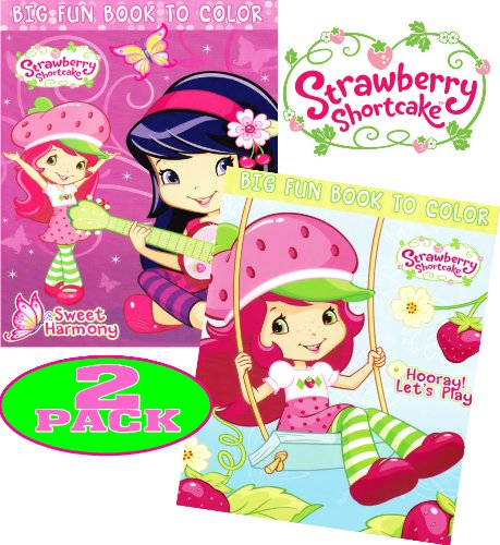 Strawberry Shortcake® Coloring and Activity Book Set (2 Books ~ 96 pgs each)