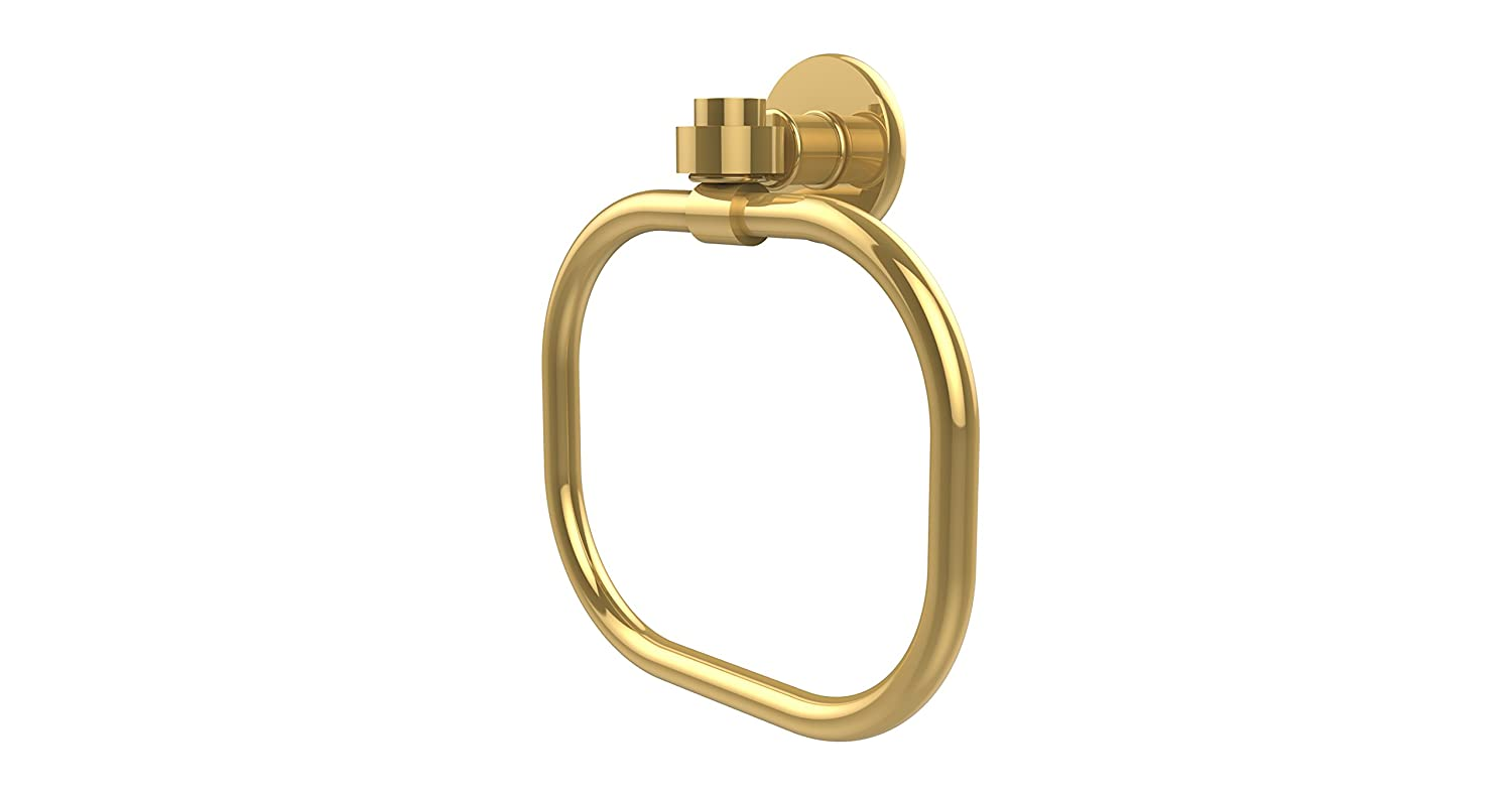 Allied Brass 2016-ABZ Continental Collection Towel Ring Antique Bronze