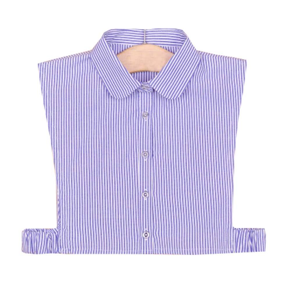 Cuello falso desmontable medias camisas falso collar para niñ as y mujeres, A3 Black Temptation