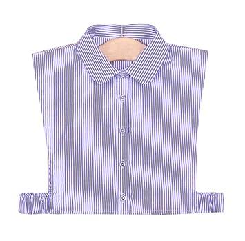 Cuello falso desmontable medias camisas falso collar para niñas y mujeres, A3
