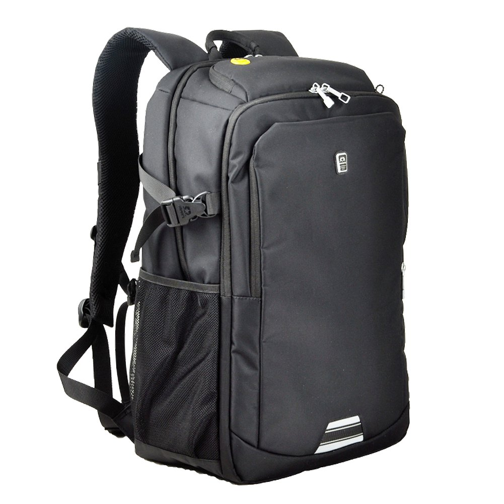 Koolerpek Waterproof Business Backpack for Laptop Up to 17 inch Grey Variation