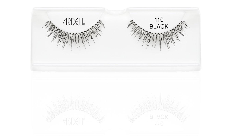 7e9ea11d238 Amazon.com : Ardell Fashion Lashes, 110 Black, 1 Pair : Fake Eyelashes And  Adhesives : Beauty