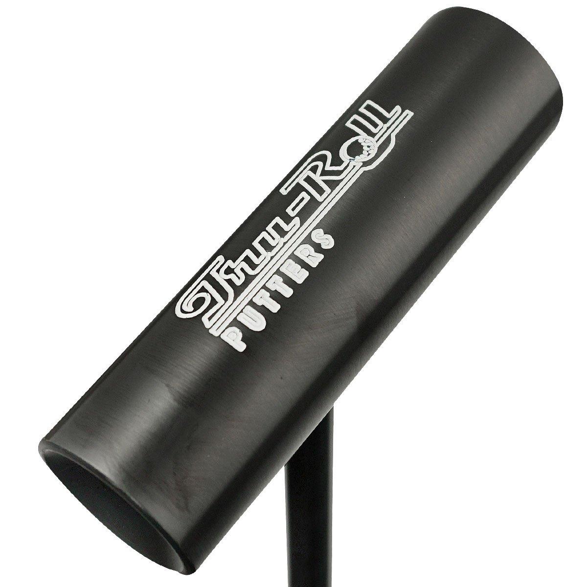 Tru-Roll ゴルフ センターシャフト TR-III オールブラック パター ブラックスチールシャフト 35インチ