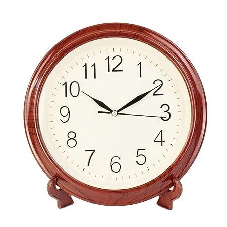 CLHXZE Reloj de Mesa/Escritorio Grande Sala de Estar Europea ...