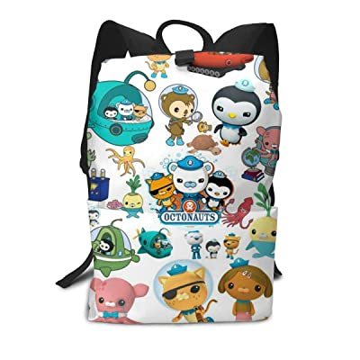 Aebipo The Oc-to-nauts Student Backpack Kids Print Backpack College School Computer Bag For Boy & Girl   Kids' Backpacks