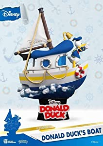 Beast Kingdom Disney Donald Duck's Boat Ds-029 D-Stage Series Statue
