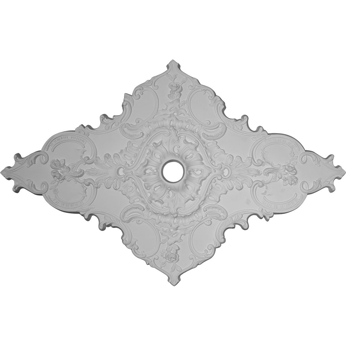 Melchor 43 3/8'' H x 67 1/4'' W x Diamond Ceiling Medallion