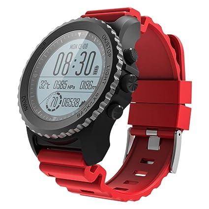 HUIGE Reloj Inteligente, S968 Deportes Profesionales Ritmo cardíaco Inteligente Snorkeling + natación Reloj Profesional Impermeable