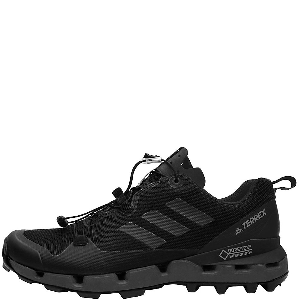 adidas outdoor Mens Terrex Fast GTX-Surround Shoe B072KPKT5R 7 M US|Black, Grey Five, Hi-res Red
