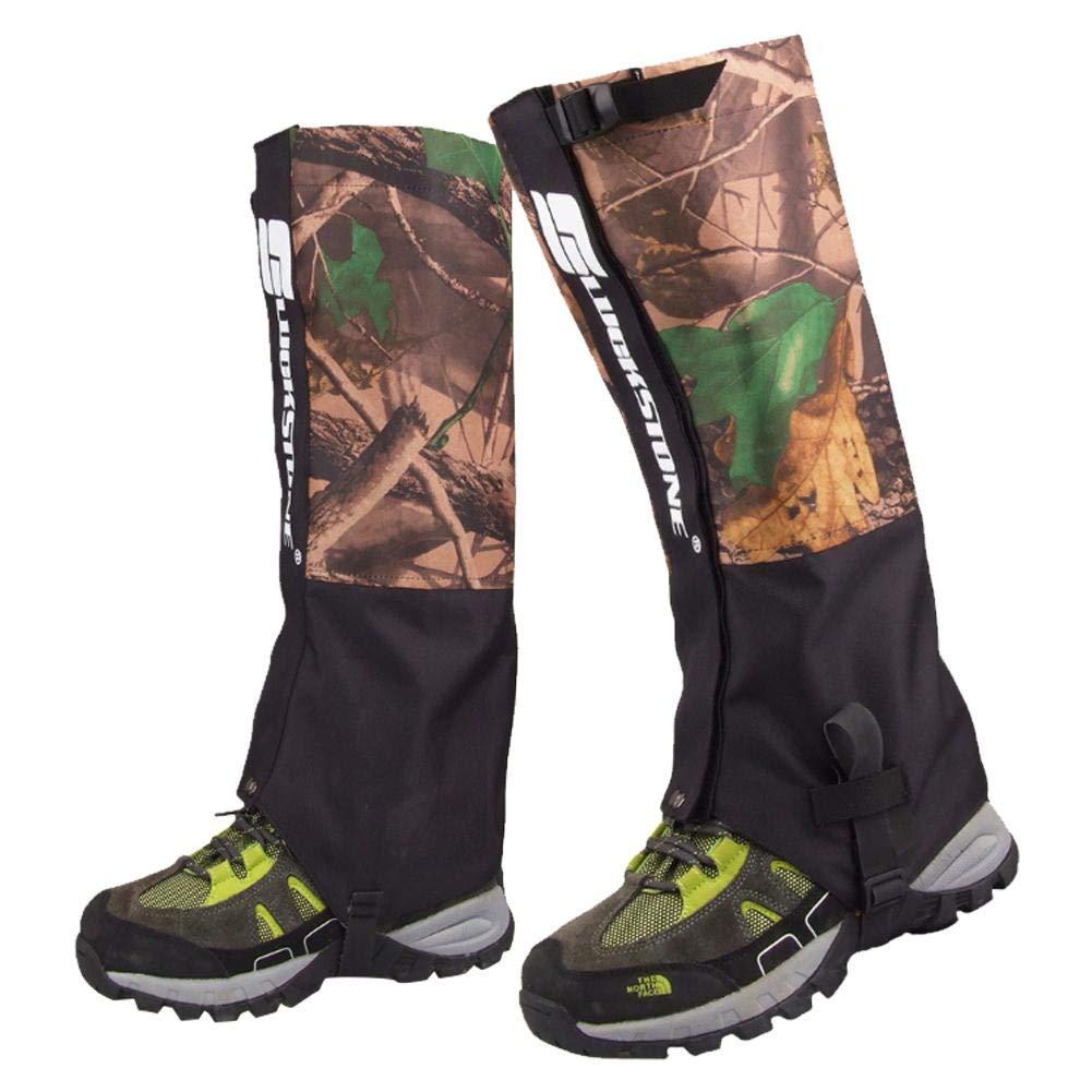 PROKTH Ghette mimetiche Impermeabili Gambali Traspiranti Ghette Scarpe Stivali Copertine per Mountain Trekking Sci Arrampicata a Piedi Caccia