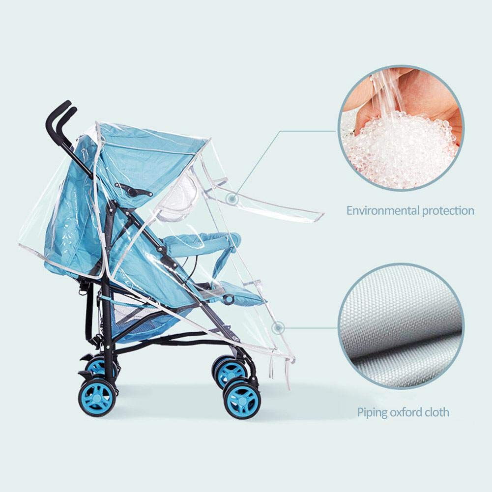 Stroller Rain Cover Waterproof Universal Weather Shield