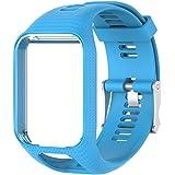colinsa 11colori di ricambio per orologio per TomTom runner 2/3Series silicone orologio cinturino