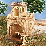 Fontanini Bethlehem Inn with Water Pump LED Nativity Village Figurine 55585