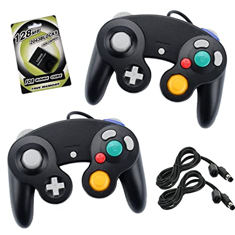 amazon com koalud 2 packs ngc wired gamepad controllers with 2