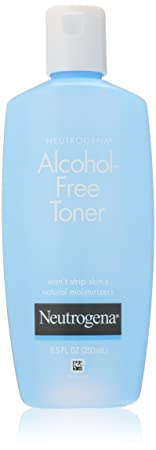 Neutrogena Alcohol-Free Toner, 8.5 Fluid Ounce Pack of 3