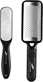 Foot Files Callus Remover 2 Pcs Stainless Steel Foot Rasp and