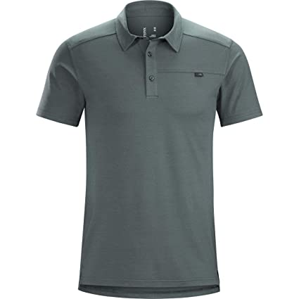 7d403b331 Amazon.com  Arc teryx Captive Polo Shirt Short Sleeve Men s  Clothing