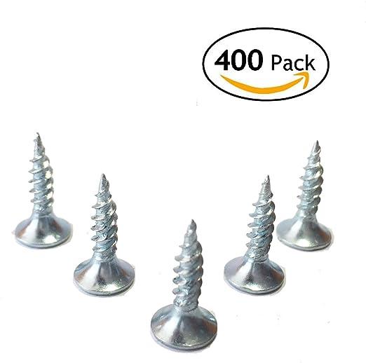 1000 unidades 1000 tornillos para madera de acero chapado en zinc
