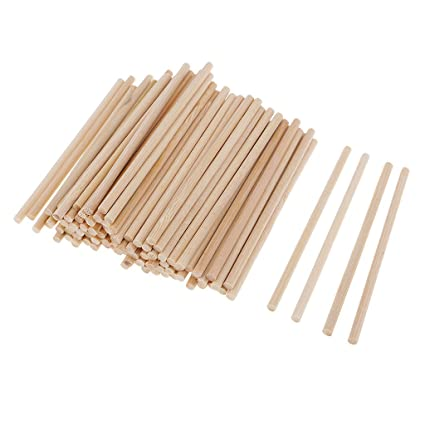 Amazon.com: Baosity 100 Pieces Natural Blank Round ...
