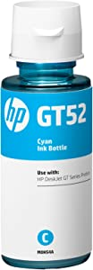 HP No. GT52 Cyan Refill Ink