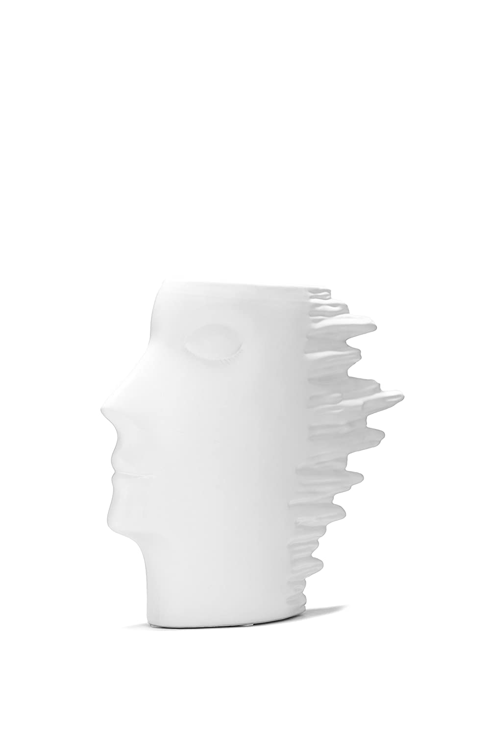 Amazon human head vase planter ceramic side view face amazon human head vase planter ceramic side view face figurine abstract modern statue 9 1 home kitchen reviewsmspy