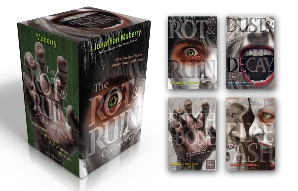 The Rot & Ruin Collection: Rot & Ruin; Dust & Decay; Flesh & Bone; Fire & Ash by Simon & Schuster Books for Young Readers