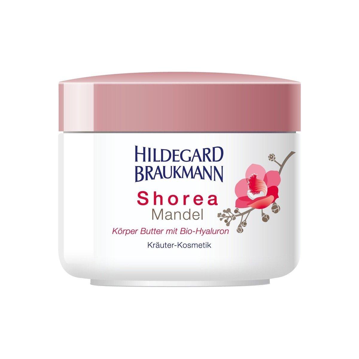Hildegard Braukmann Shorea Mandel Körper Butter, 1er Pack (1 x 200 ml) 4016083003780