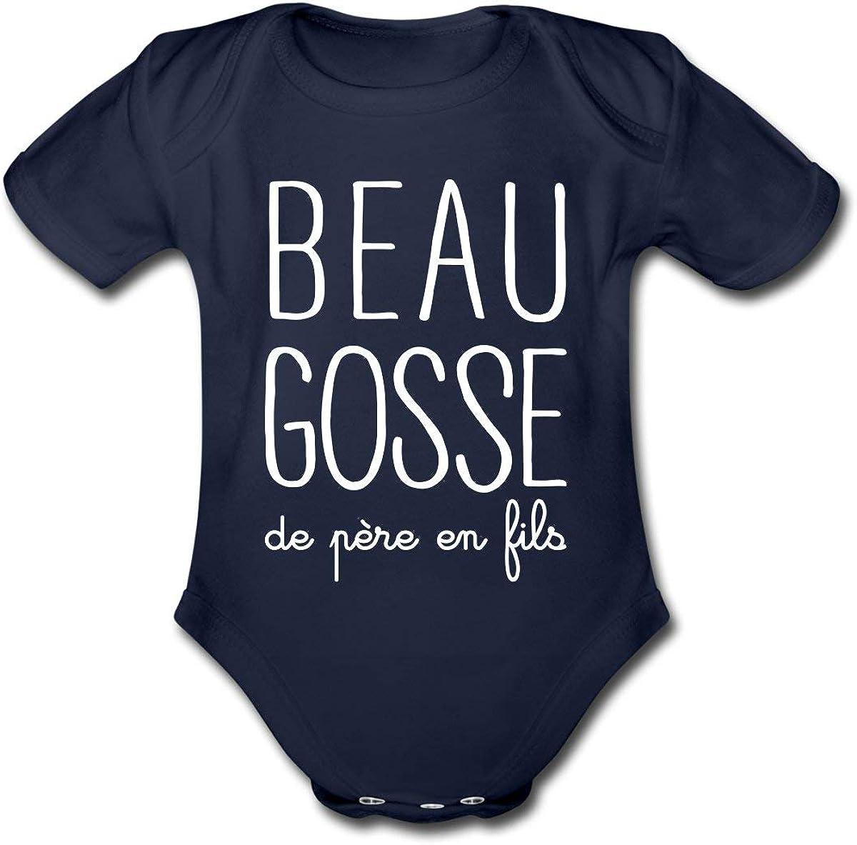 Spreadshirt JAi La Meilleure Maman du Monde Body B/éb/é Bio Manches Longues