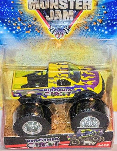 Hot Wheels 2009 1/64 Scale Monster Jam VIRGINIA GIANT Monster Truck (Giant Scale Racing)