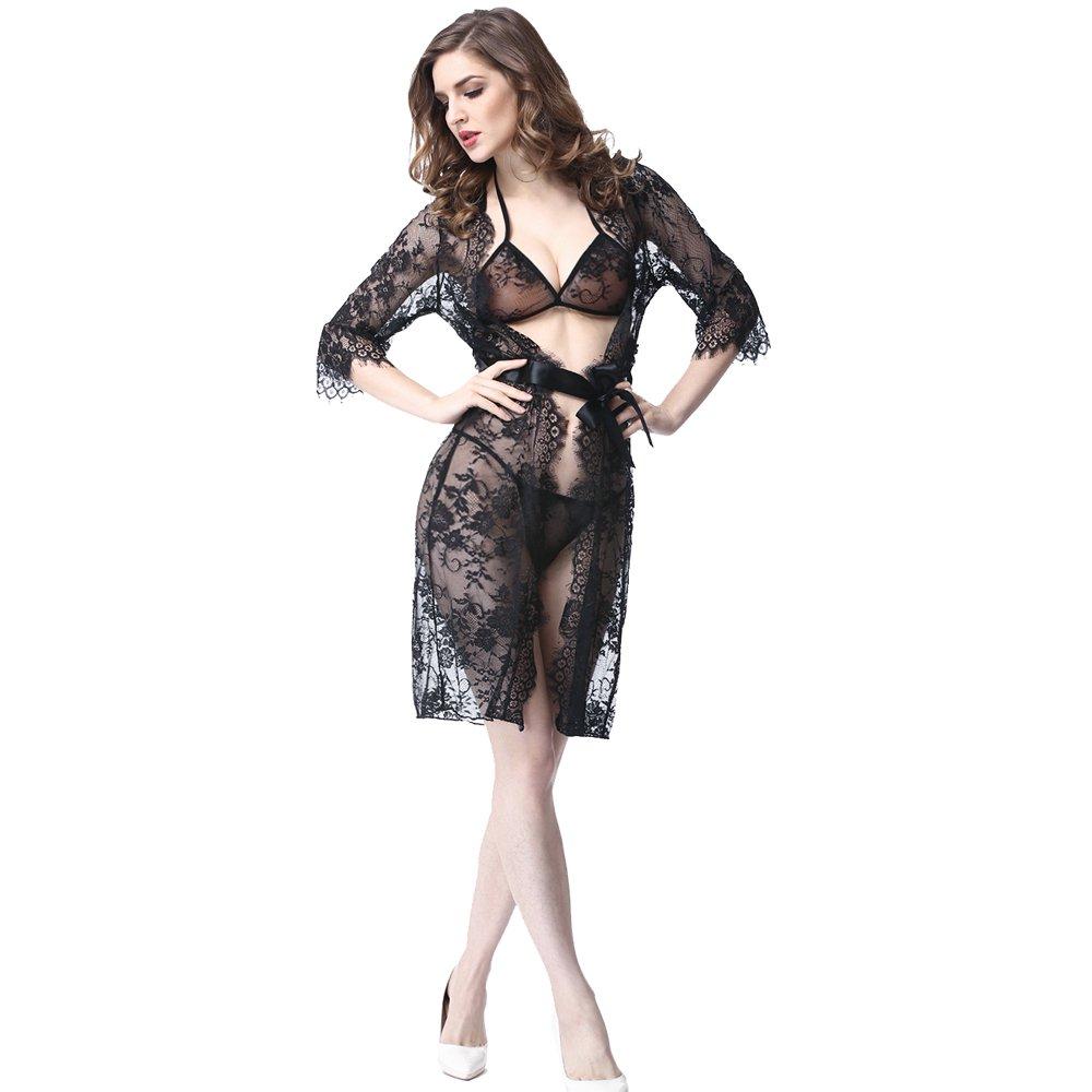 BestTime Sleepwear Women Perspective Nightgown
