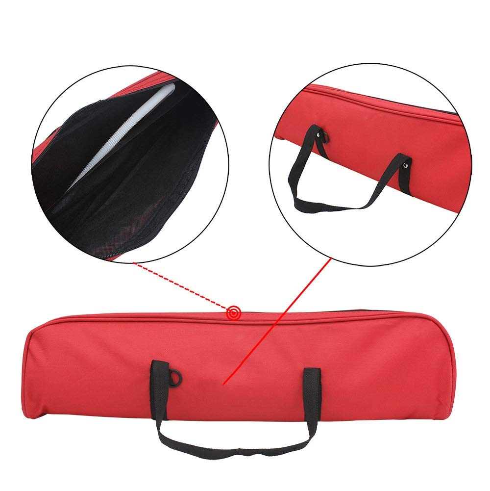 Melodica Musical Instrument Full Sets Piano Style Melodica Educational 37 Keys Portable Musical Instrument With Carrying Bag Straps 2 Mouthpieces Tube Gift Toys For Kids Music Lovers Beginners Red for by Shirleyle-MU (Image #6)